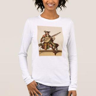 T-shirt À Manches Longues Monsieur jouant l'angélique officinale, plat de