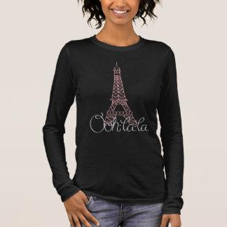 T-shirt À Manches Longues Oh ! Tour Eiffel de La de La