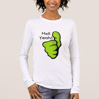 T-shirt À Manches Longues Oui, non