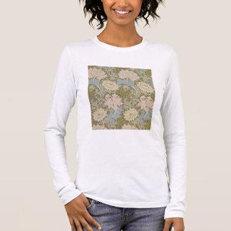 """T-shirt À Manches Longues Papier peint de """"chrysanthème"""", 1876 (papier"""