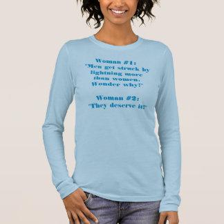 T-shirt À Manches Longues Parler de deux femmes