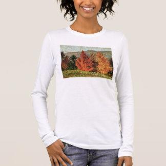 T-shirt À Manches Longues Paysage d'automne, c.1903 (huile sur la toile)