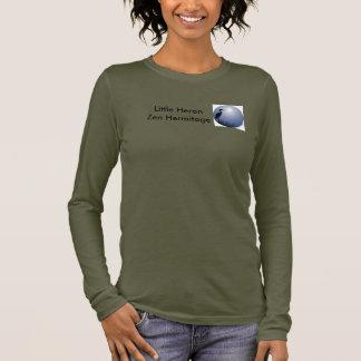 T-shirt À Manches Longues Petit ermitage de zen de héron