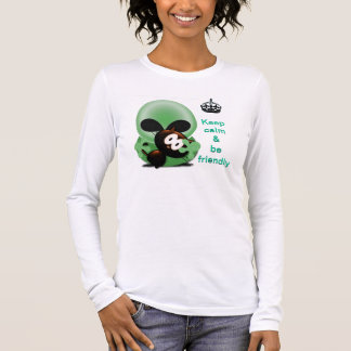 T-shirt À Manches Longues Plaisanteries de Roswell