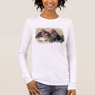 T-shirt À Manches Longues Souvenirs affectueux (huile sur la toile)