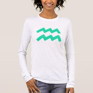 T-shirt À Manches Longues Symbole de Verseau d'Aqua