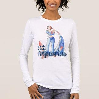 T-shirt À Manches Longues Verseau