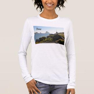T-shirt À Manches Longues Village féroïen de Bøur : Chemise