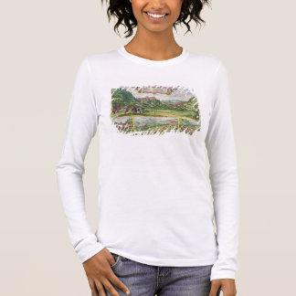 T-shirt À Manches Longues Vue d'Alhambra, de 'Civitates Orbis Terrar