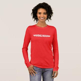 "T-shirt À Manches Longues ""Wingman """