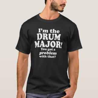 T-shirt A obtenu un problème avec le ce, commandant de