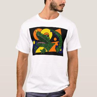 T-shirt AA chemise impressionnante d'art d'alligator