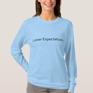 T-shirt Abaissez les attentes