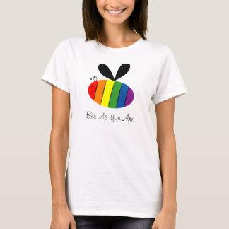 T-shirt Abeille comme vous êtes