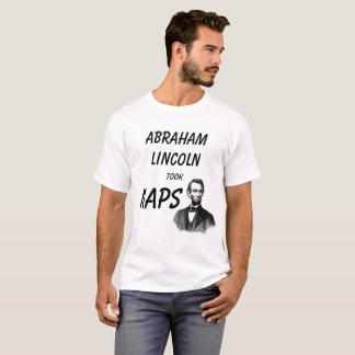T-shirt Abraham Lincoln a pris des petits sommes