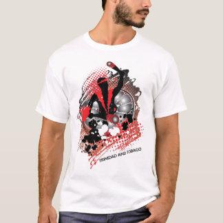 T-shirt abrégé sur panman de trini