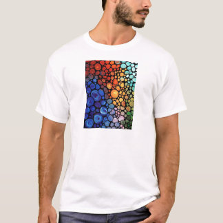 T-shirt abstract-1