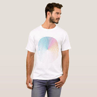 T-shirt Abstract colorful circle Man shirt
