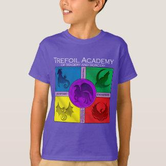 T-shirt Académie de minette avec la devise