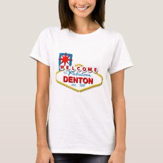 T-shirt Accueil à Denton, le Texas !