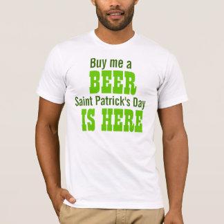 T-shirt Achetez-moi qu'un jour de Patrick de saint de