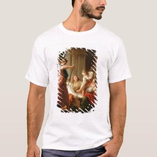 T-shirt Achille à la cour du Roi Lycomedes avec son D