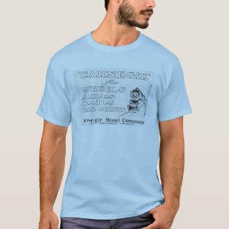 T-shirt Acier de Carnegie pour des rails de roues et des