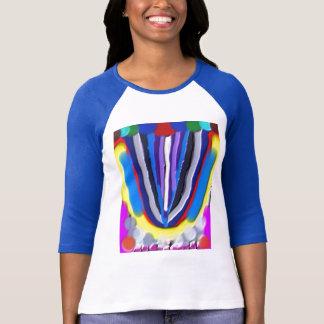 T-shirt Acrylique Handcrafted de LOTUS bleu
