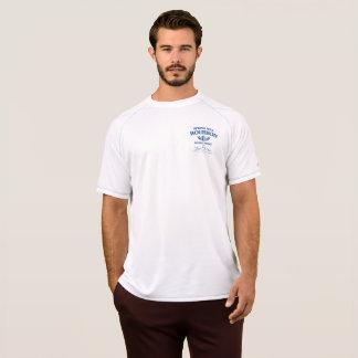 T-shirt actif de sport de moulin de ressort
