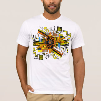 T-shirt Actionnez la partie supérieure de la chemise des