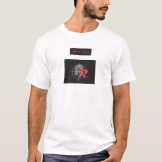 T-shirt adamsrazortextred, adamsrazorlogo2