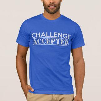 T-shirt admis par défi