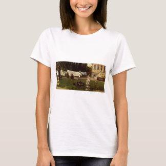 T-shirt Adolf Menzel - scène de jardin
