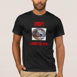 T-shirt Adoptez un Pitbull