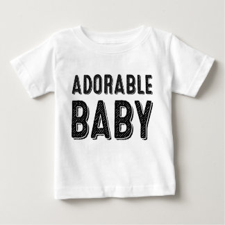 T-shirt adorable de bébé