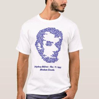 T-shirt Adresse de Gettysburg