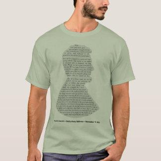 T-shirt Adresse de Gettysburg par Lincoln