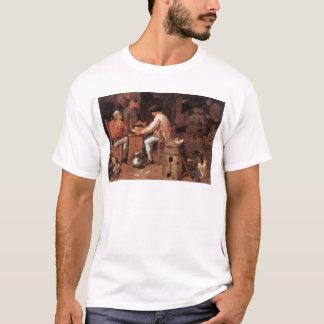 T-shirt Adriaen Brouwer les joueurs de carte