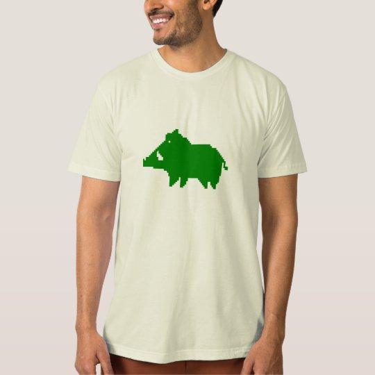 T-Shirt Adulte Homme - Bio - Sanglier des Ardennes