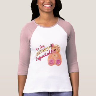 T-shirt adulte particulier de Beary (rose)