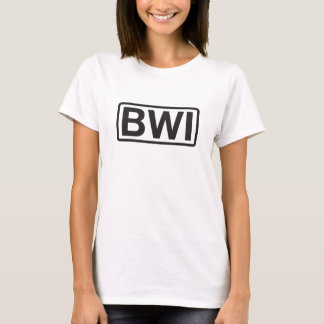 T-shirt Aéroport international de Baltimore-Washington