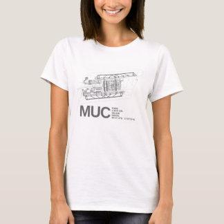 T-shirt Aéroport international de Munich Franz Josef