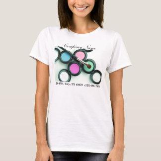 T-shirt affaires modernes de maquilleur promotionnelles