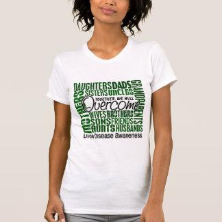T-shirt Affection hépatique carrée de famille