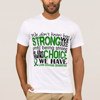 T-shirt Affection hépatique comme nous forts sommes
