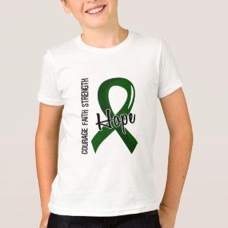 T-shirt Affection hépatique de l'espoir 5 de foi de