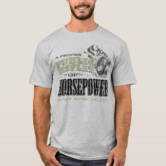 T-shirt Affichage public des puissances en chevaux