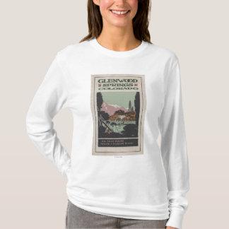 T-shirt Affiche de station thermale # 2