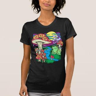 T-shirt Affiche légère noire T