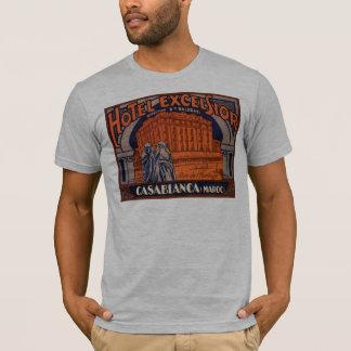 T-shirt Affiche vintage de voyage, Casablanca, Maroc,